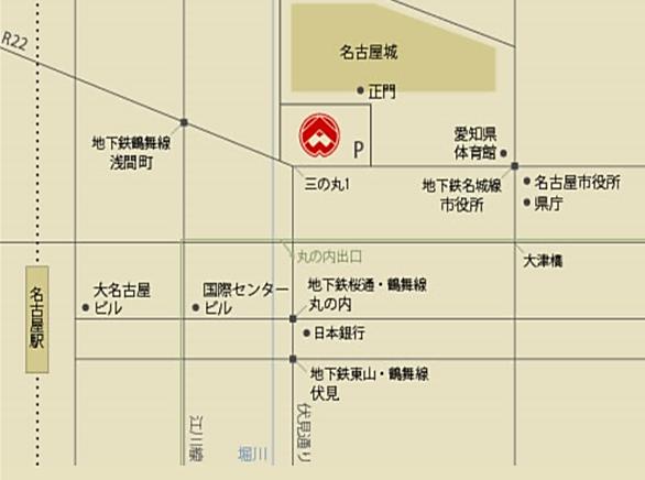名古屋能楽堂MAP